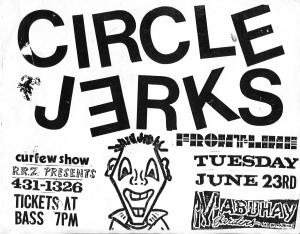 Circle Jerks at Mabuhay in San Francisco,  1987